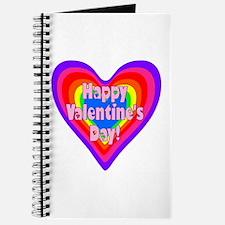 rainbow heart valentine 1 Journal