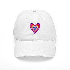 rainbow heart valentine 1 Baseball Baseball Cap