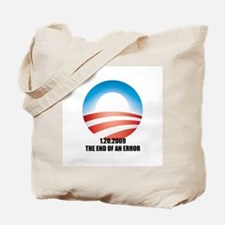 Obama - The End of an Error Tote Bag