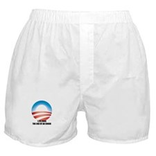 Obama - The End of an Error Boxer Shorts