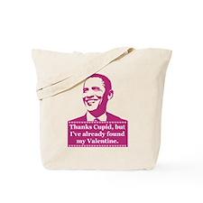 Obama Valentine's Day Tote Bag