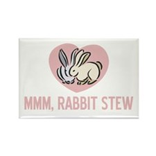 Rabbit Stew Rectangle Magnet
