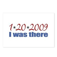 1-20-2009 I was there Postcards (Package of 8)