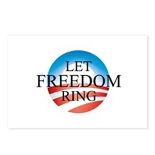 Obama - Let Freedom Ring Postcards (Package of 8)