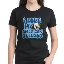 I Love my American Bulldog Tee