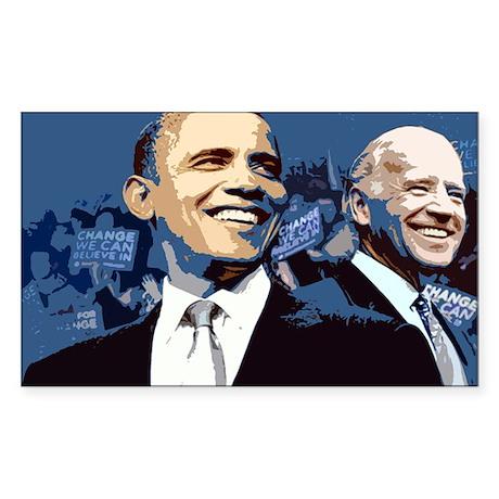 Barack - Biden Rectangle Sticker