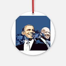 Barack - Biden Ornament (Round)