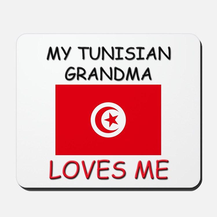 My Tunisian Grandma Loves Me Mousepad