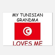 My Tunisian Grandma Loves Me Postcards (Package of