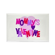 Mommy's Valentine Rectangle Magnet