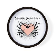 Endometrial Cancer Survivor Wall Clock