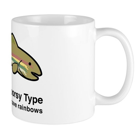 2-gay outdoorsy type Mugs