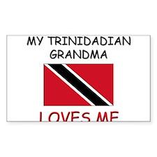 My Trinidadian Grandma Loves Me Decal