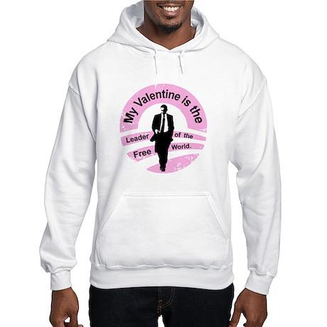 Obama Valentine Hooded Sweatshirt