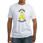 Sarcoma Survivor Fitted T-Shirt