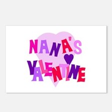 Nana's Valentine Postcards (Package of 8)