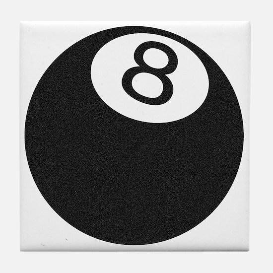 Riyah-Li Designs 8 Ball Tile Coaster