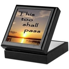 This Too Shall Pass Keepsake Box