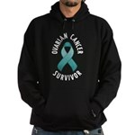 Ovarian Cancer Survivor Hoodie (dark)