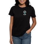 Ovarian Cancer Survivor Women's Dark T-Shirt