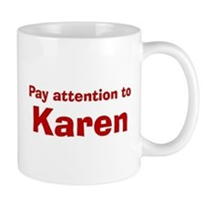 Personalized Karen Mug