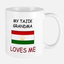 My Tajik Grandma Loves Me Mug