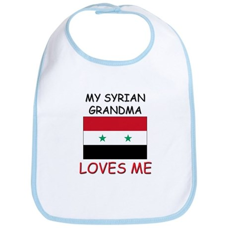 My Syrian Grandma Loves Me Bib