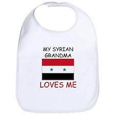 My Syrian Grandma Loves Me Bib