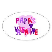 Papa's Valentine Decal