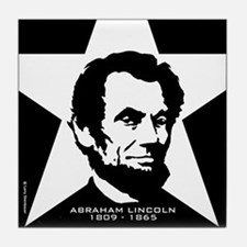 Abraham Lincoln Tile Coaster