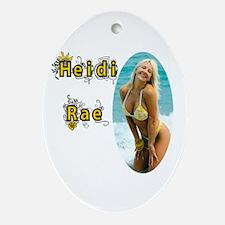Yellow Bikini Ornament (Oval)