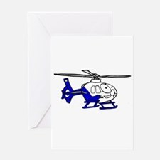 EMS Helicopter3 Greeting Card
