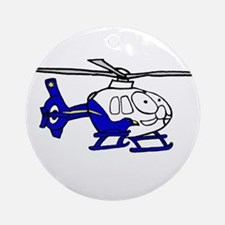 EMS Helicopter3 Ornament (Round)