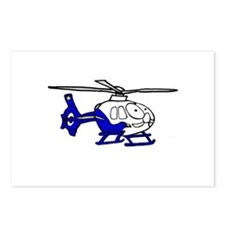 EMS Helicopter3 Postcards (Package of 8)
