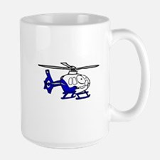 EMS Helicopter3 Large Mug