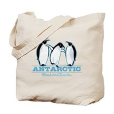 Penguin Swimming Tote Bag