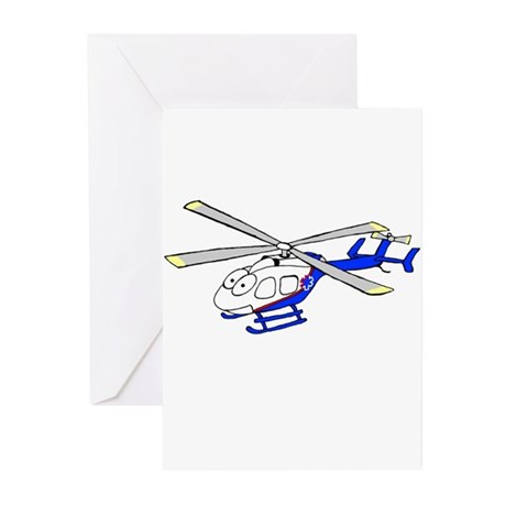 EMS Helicopter4 Greeting Cards (Pk of 20)