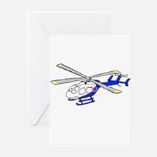 EMS Helicopter4 Greeting Card