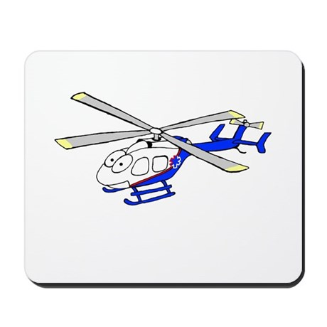 EMS Helicopter4 Mousepad
