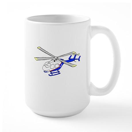EMS Helicopter4 Large Mug