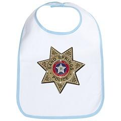 Sand Springs Police Bib