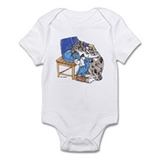 NMtMrl Leghug Infant Bodysuit