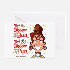 The Bigger the Bun Greeting Card