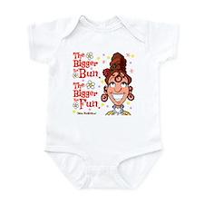 The Bigger the Bun Infant Bodysuit