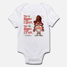 The Bigger the Bun Infant Bodysuit