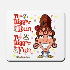 The Bigger the Bun Mousepad