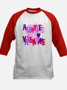 Auntie's Valentine Kids Baseball Jersey