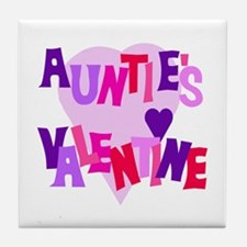 Auntie's Valentine Tile Coaster