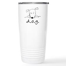 D.O.G. Stainless Steel Travel Mug