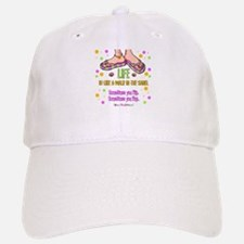 Life is like a walk in the sand Baseball Baseball Cap